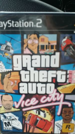Ps2 GTA grand theft auto and xbox 360 grand theft new one for Sale in Salt Lake City, UT