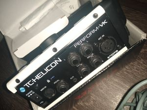 TC Helicon PERFORM-VK Vocal Effects Processor hh for Sale in Dallas, TX