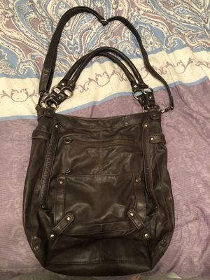 Brown Faux Leather Messenger Bag for Sale in Las Vegas, NV