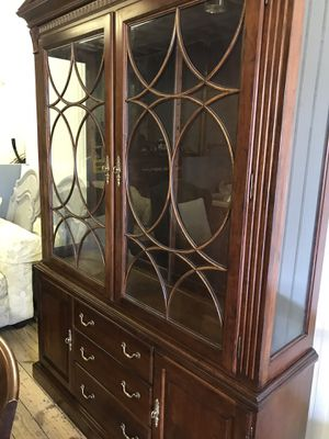 Antique china cabinet $400 for Sale in Paterson, NJ