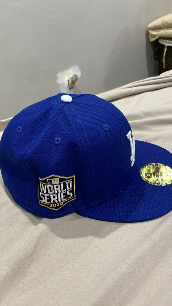 2020 World Series Dodger Hat 7 3/8