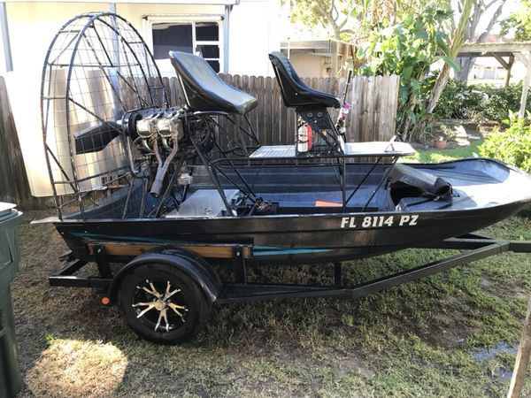 "Airboat    11""8 gore hull for Sale in Clermont, FL - OfferUp"