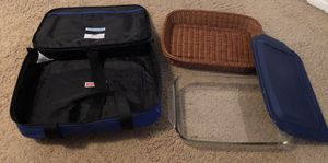 Pyrex set with carrying case for Sale in Arvada, CO