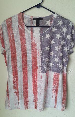 Ladies large patriotic tee INC brand $5.00 for Sale in Las Vegas, NV