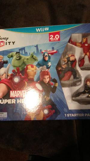Disney Infinity 2.0 Marvel Super heroes Wii u/ unopened for Sale in Pearl, MS