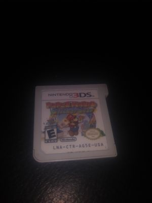 Paper Mario Sticker Star for Nintendo 3DS for Sale in Merced, CA