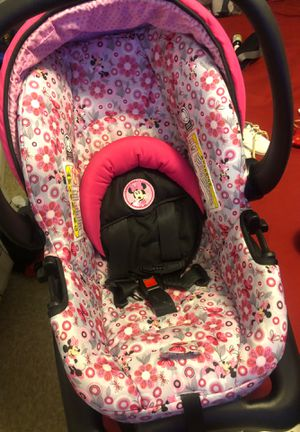 Minnie Mouse car seat for Sale in Humble, TX