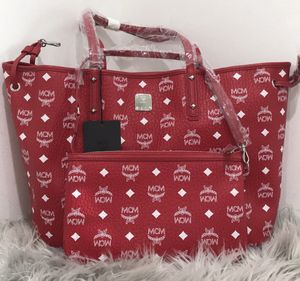 Mcm Tote Bag with pouch for Sale in Las Vegas, NV