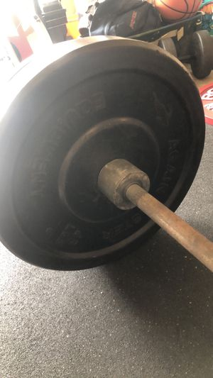 Barbell bumper plates for Sale in Olympia, WA