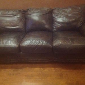 FREE FREE , LEATHER SOFA & LOVE SEAT for Sale in Fort Worth, TX
