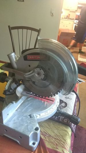 Craftsman 10 inch compound miter saw for Sale in St. Louis, MO