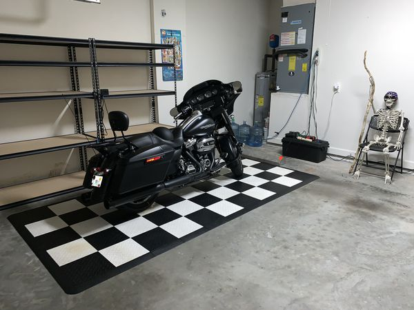 Motorcycle Snap together floor for sale.