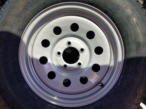 "Trailer tire & rim 15"" for Sale in Las Vegas, NV"