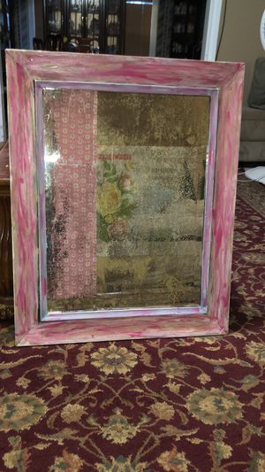 Antique Refinished Acid Mirror for Sale in Bryan, TX