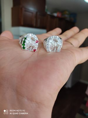 925 silver ring size 9,10,11 for Sale in Austin, TX