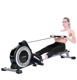 MaxKare Magnetic Rowing Machine Folding Exercise Rower 16-Level Tension Resistance Precise Display Panel with Storage Box Quite for Home Use for Sale in Rosemead, CA