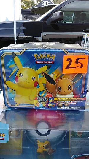 Pikachu eevee lunch box for Sale in Compton, CA