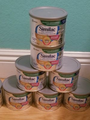 Similac Pro-Advance Baby Formula...0 To 12 Months Old..New Never Openex Still Sealed..Exp Date April 2021..I Have 12 8oz Cans each can $10 for Sale in Modesto, CA
