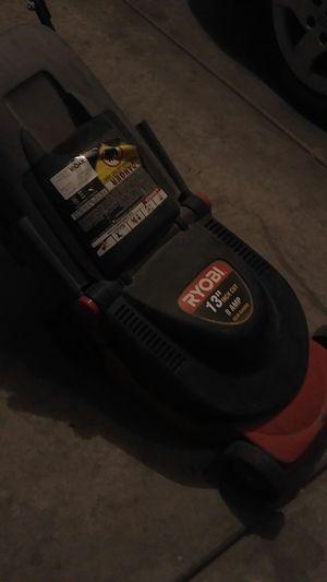 Ryobi 8amp Electric Lawn Mower (small lawn) for Sale in Las Vegas, NV