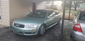 2004 Audi 8, damaged modules for Sale in Petersburg, VA