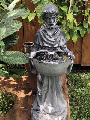 Solar water fountain Saint Francis for Sale in Saint Petersburg, FL