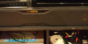 Klipsch soundbar with bluetooth subwoofer Model r20b for Sale in Chicago, IL