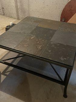 Metal/Slate Coffee Table for Sale in O'Fallon,  MO