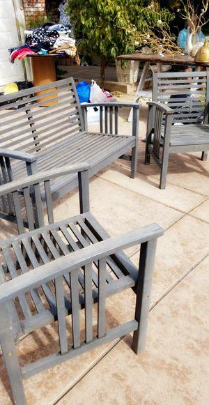 3 piece patio furniture for Sale in Modesto, CA