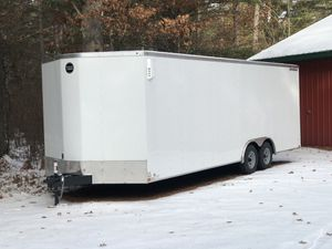 2020 Wells Cargo 24' trailer with 3' V-nose 10,000 GVW for Sale in Saint Germain, WI