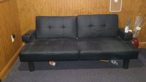 Leather couch for Sale in Trumbull, CT