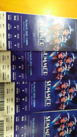 The Donna summer musical tics Fri Feb 7th for Sale in Denver, CO