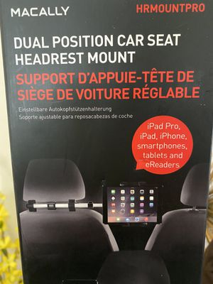 Macally Dual Position Car Seat Headrest Mount for Sale in Alhambra, CA