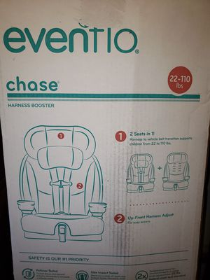 Evenflo Car Seat chase Harness Booster Or best Offer for Sale in Philadelphia, PA