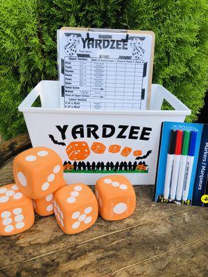 Yardzee HALLOWEEN Game!! for Sale in Fairfield, CA