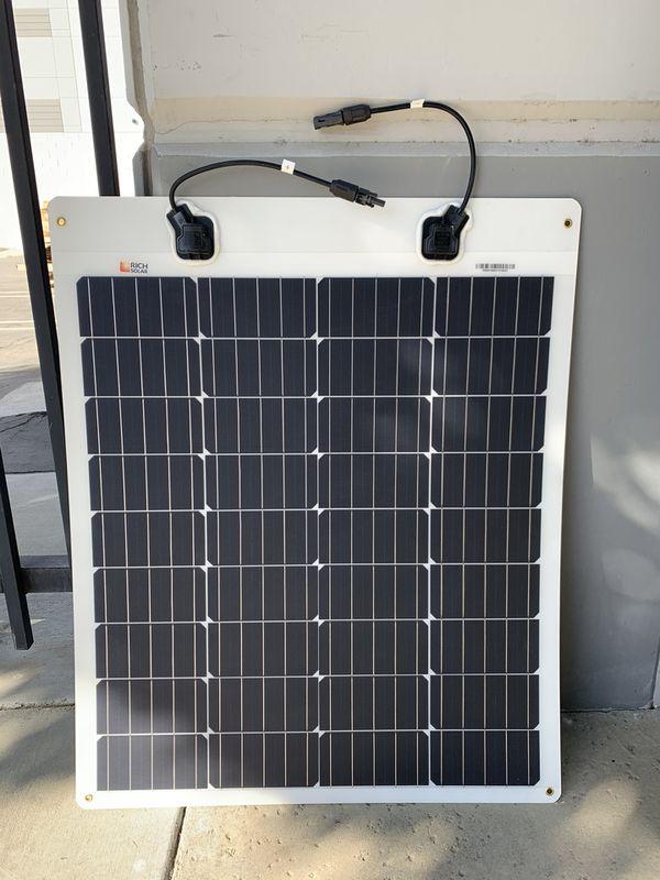 80 watt flexible solar panel