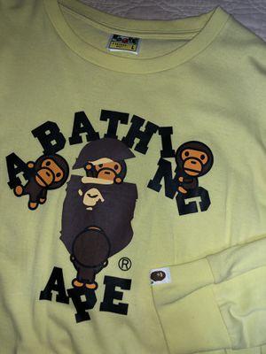 Sz L bape sweater for Sale in Nashville, TN
