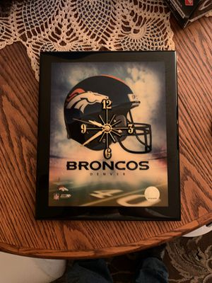 Denver Broncos Wall clock for Sale in Young, AZ