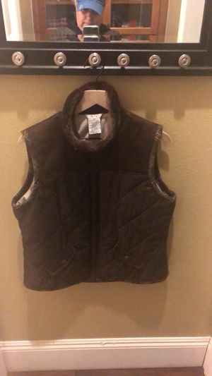 Used, Cabi vest brown new size large for Sale for sale  Murrieta, CA