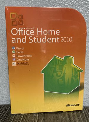 Microsoft Office Hime and Student 2010 family pack X3 for Sale in City of Industry, CA