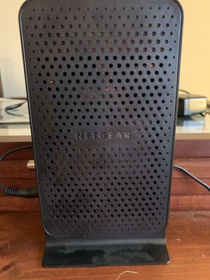 Netgear N600 WiFi cable modem router for Sale in Marysville, WA