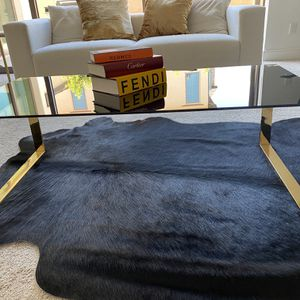 """47"""" Black and Gold Modern Coffee table for Sale in Tustin, CA"""