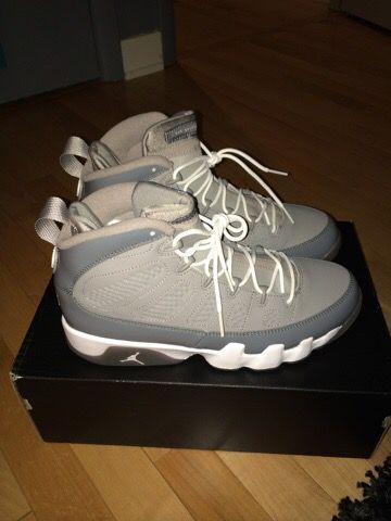 "Nike Jordan 9 ""cool grey"" size 8"