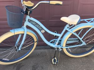 """26"""" Women's Cruiser Bike with basket, cup/cell holder, rear rack - Brand New for Sale in North Richland Hills, TX"""