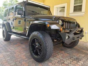 2008 jeep wrangler Sahara 4x4 hardtop 85k for Sale in Orlando, FL