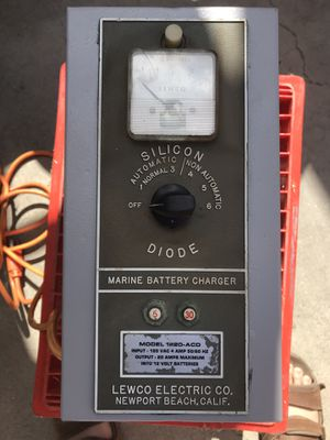 Boat battery charger by Lewco electric for Sale in Whittier, CA