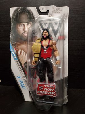 WWE Mattel Action Figure Then Now Forever (X-Pac) for Sale in Long Beach, CA
