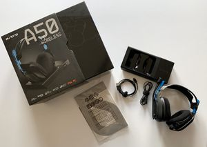 Astro A5 Wireless Headphones gen 3 with Dolby digital 7.1 surround sound for PS4 and PC for Sale in Houston, TX