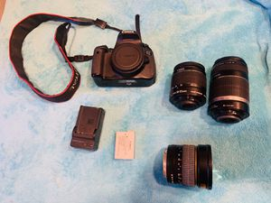 Canon Rebel T4i Camera and Lens Kit - Used for Sale in Sacramento, CA
