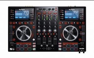 Dj numark controller and two speakers sterling more then 100$ worth of equipment for Sale in Los Angeles, CA