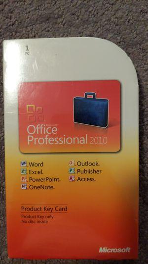 Brand New Microsoft Office Professional 2010 for Sale in Redondo Beach, CA
